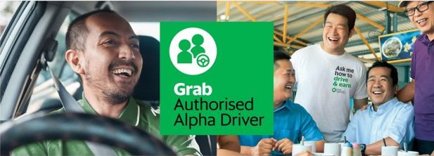Grab Authorized Alpha Driver